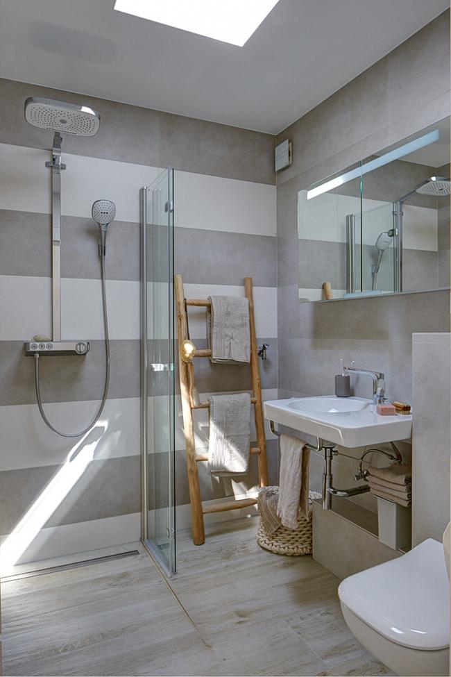 Небольшая, но уютная ванная комната