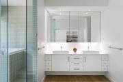 Фото 20 Северный минимализм: 60+ стильных интерьеров ванной и туалета в скандинавском стиле