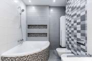 Фото 4 Северный минимализм: 60+ стильных интерьеров ванной и туалета в скандинавском стиле