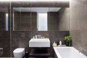 Фото 28 Северный минимализм: 60+ стильных интерьеров ванной и туалета в скандинавском стиле