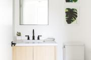 Фото 30 Северный минимализм: 60+ стильных интерьеров ванной и туалета в скандинавском стиле