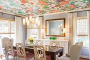 Фото 7 Узоры и рисунки для потолка из гипсокартона: 65+ готовых вариантов и стильные идеи декора своими руками