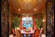 Фото 17 Узоры и рисунки для потолка из гипсокартона: 65+ готовых вариантов и стильные идеи декора своими руками