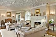 Фото 29 Узоры и рисунки для потолка из гипсокартона: 65+ готовых вариантов и стильные идеи декора своими руками