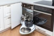 Фото 7 Волшебный уголок для кухни (60+ фото моделей): практичные идеи для идеального кухонного порядка