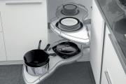 Фото 8 Волшебный уголок для кухни (60+ фото моделей): практичные идеи для идеального кухонного порядка