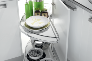 Фото 19 Волшебный уголок для кухни (60+ фото моделей): практичные идеи для идеального кухонного порядка