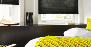 Шторы-плиссе на окна: 60+ идей для светлого интерьера, правила установки и ухода фото