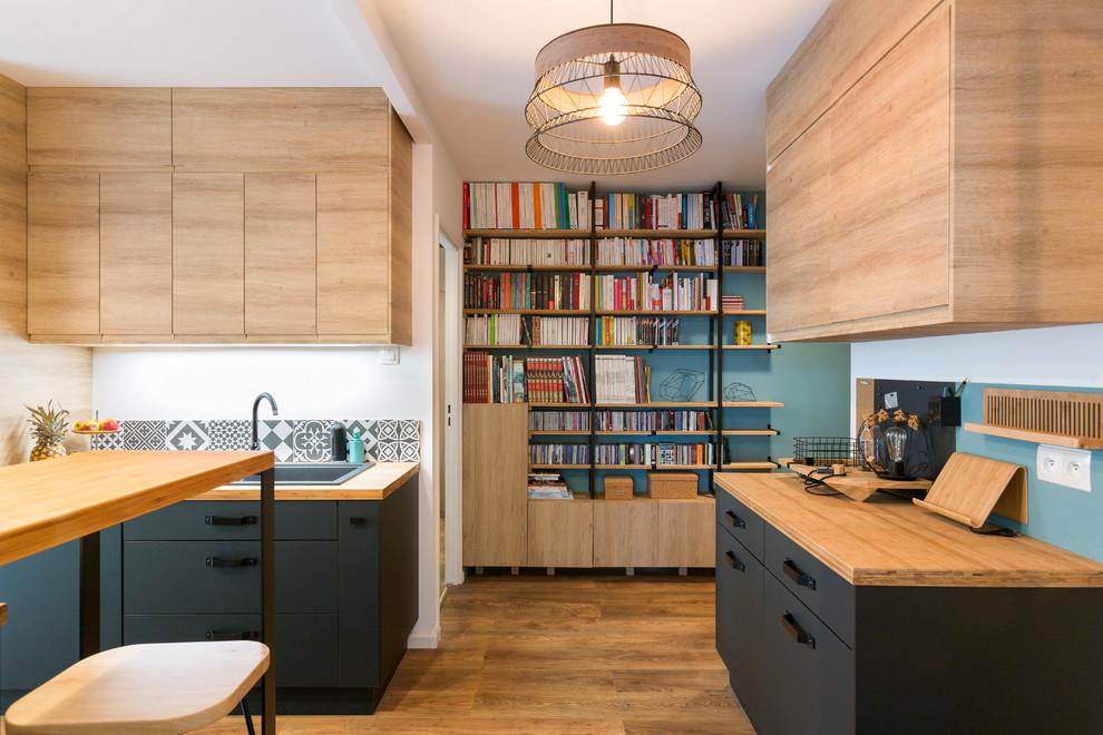 Дизайн совмещенной кухни-гостиной 100 идей с барной стойкой