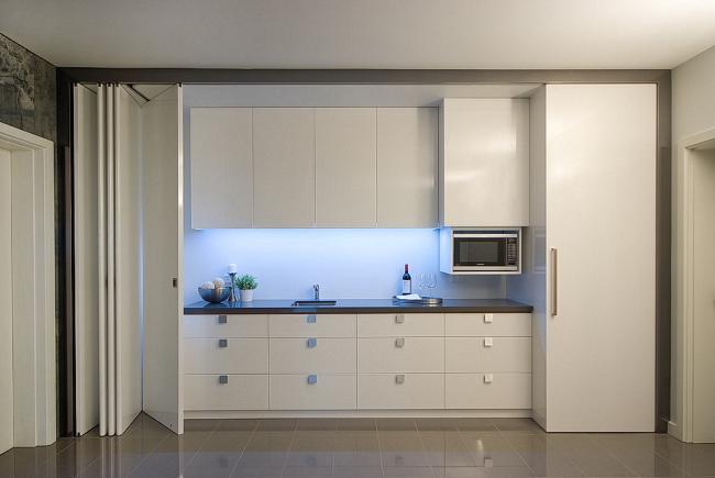Скрытая кухня - ничего лишнего