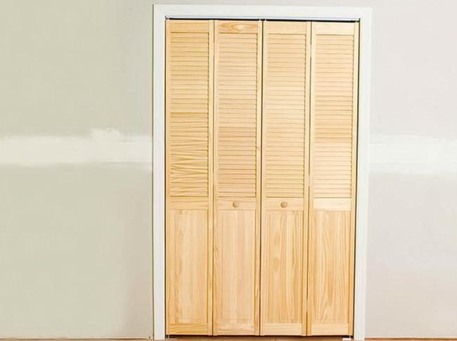 Шаг 10: дверь-гармошка установлена и готова к эксплуатации