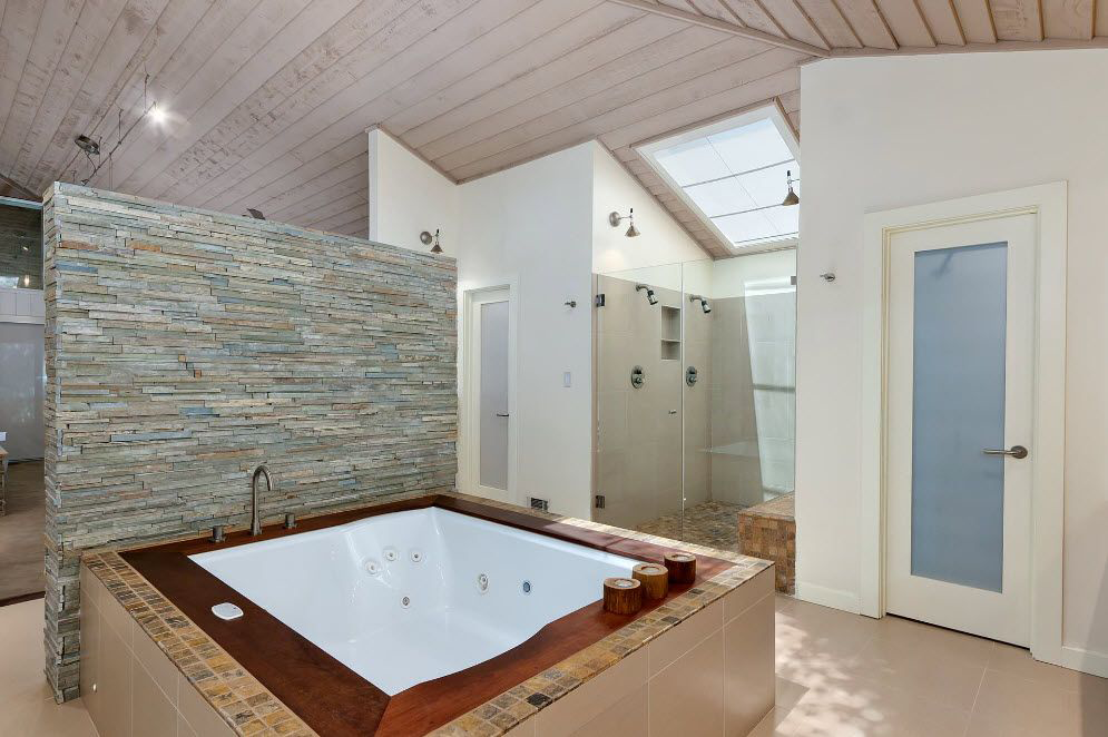 Джакузи дома (60 идей для ванной) Сравнение моделей, цены