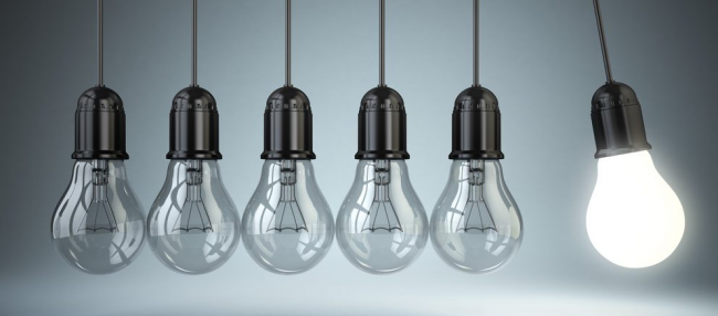 Светодиодные светильники помогут сэкономить до 85% энергии, потребляемой лампами накаливания