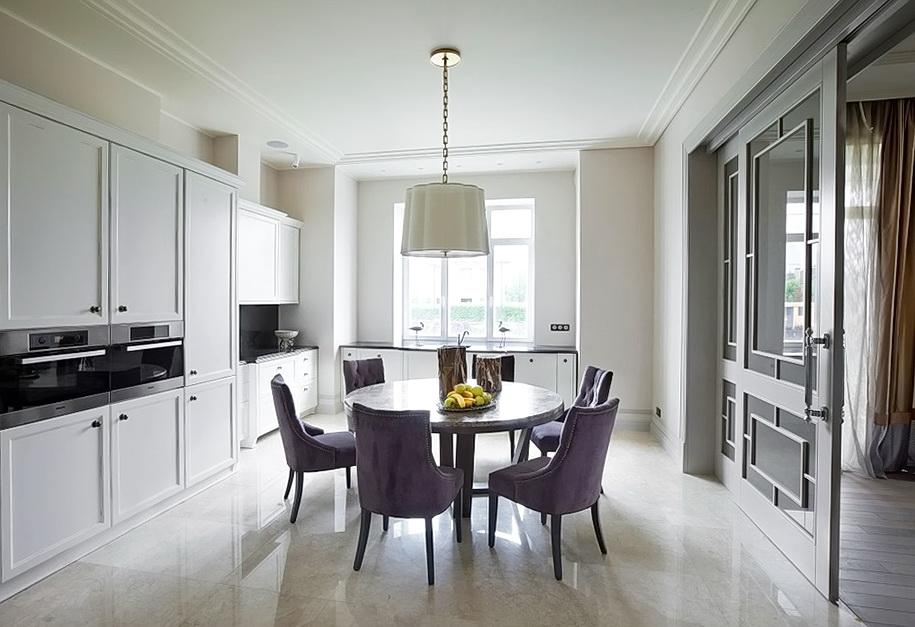Кухня в стиле арт-деко (75 фото) Идеи кухни-гостиной Дизайн