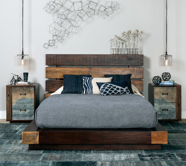Для данной модели кровати необходимо тщательно продумать как закрепить матрас