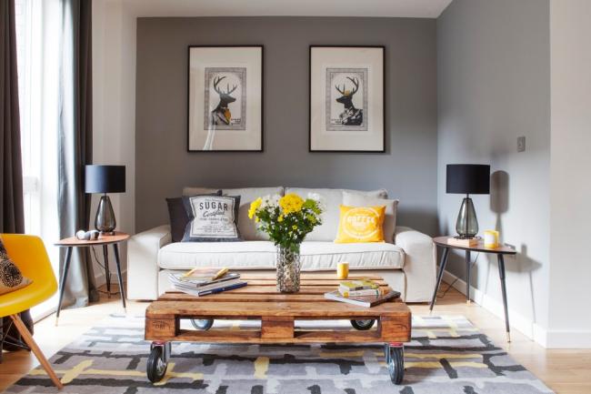 Отличная модель диванчика для малогабаритной квартиры или студии
