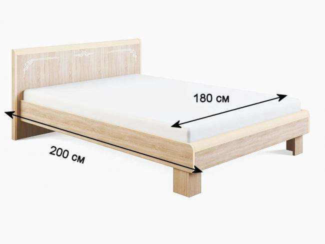 Параметры двуспальной кровати