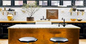 Современные кухни с островом: 100+ функциональных и стильных вариантов дизайна на любой бюджет фото