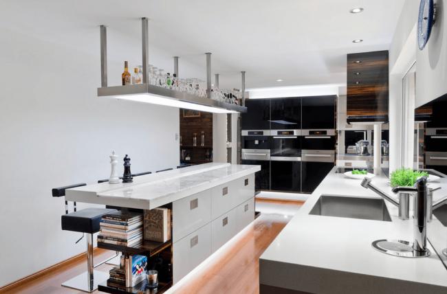 Современное оборудование и стильный дизайн залог успешного оформления интерьера