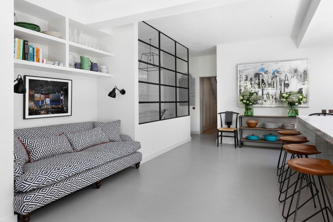 Ниша для мебели поможет сэкономить драгоценное пространство