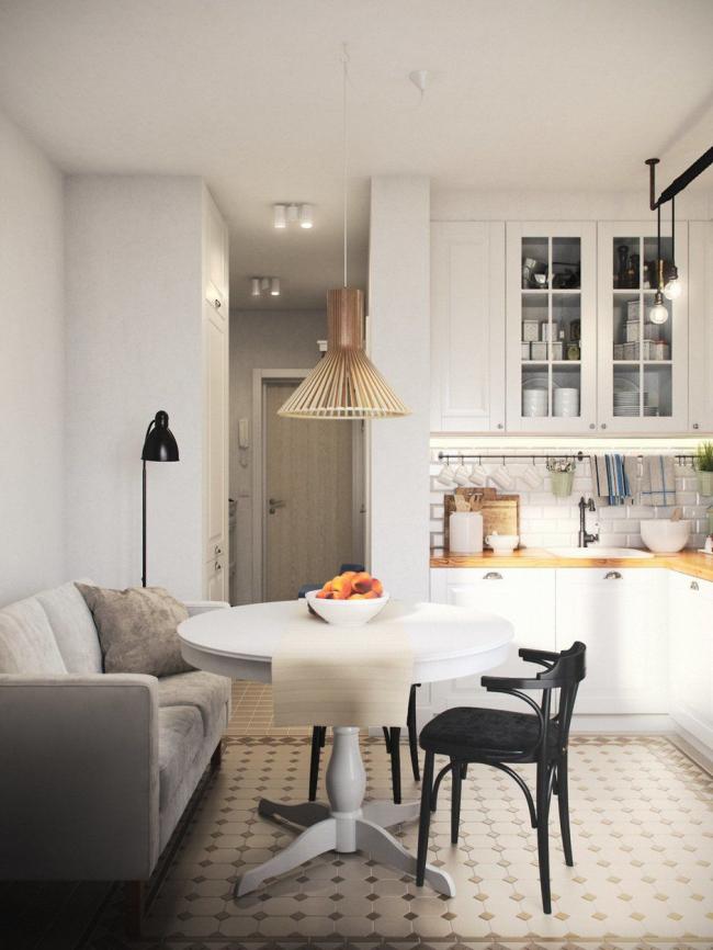 Велюровое покрытие мебели делает помещение уютней и теплее