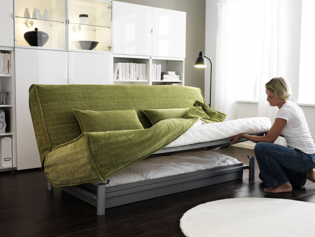 """""""Книжка"""" от IKEA со сменными чехлами и комфортным матрасом"""