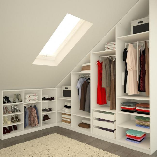 Индивидуальный подход к созданию угловой гардеробной