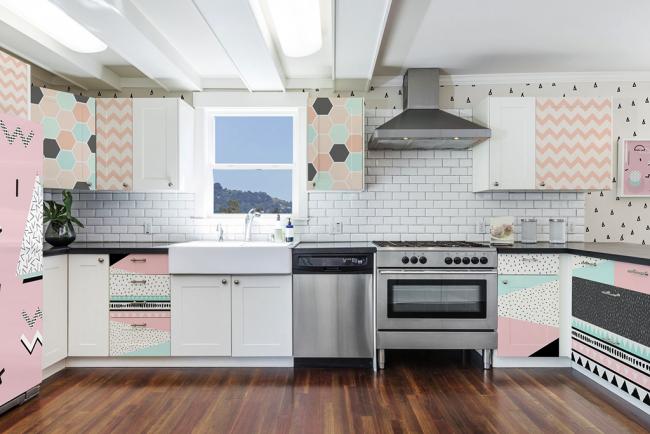 Кукольный образ кухонного гарнитура