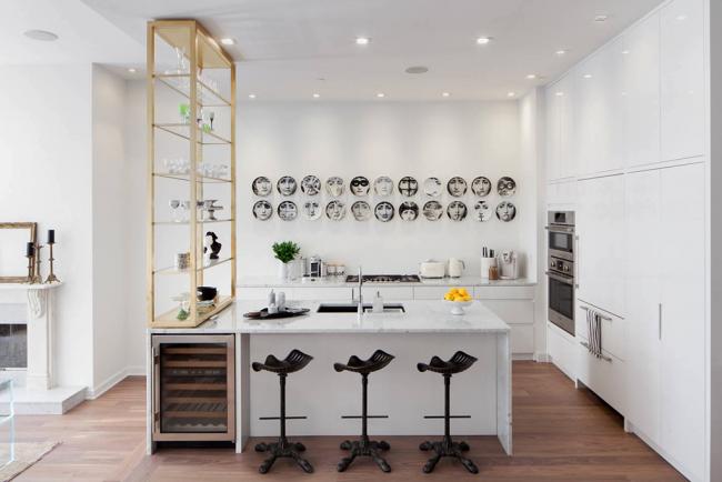 Креативное оформление современной кухни