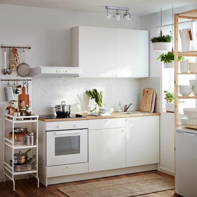 Уютная небольшая кухня