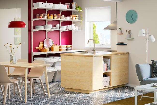 Стильная кухня от IKEA