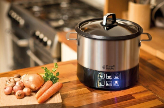 Russell Hobbs Multicooker All-In-One CookPot 23130/56 в классическом дизайне прекрасно впишется в интерьер вашей кухни