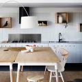 Пластиковые панели для кухни (60 фото): идеи для стильной отделки кухонного фартука, стен и потолка фото