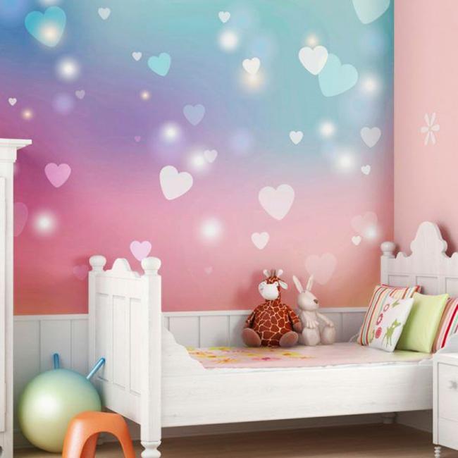 Нежный романтический образ комнаты маленькой принцессы