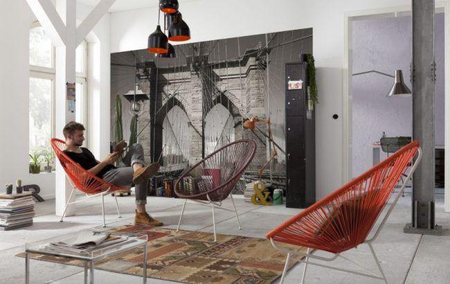 Один из самых популярных видов отделки стен сегодня- 3D фотообои