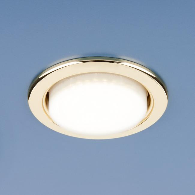 Неповоротный точечный светильник