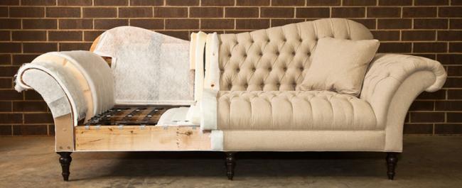 Интересная нестандартная конструкция дивана требует руки профессионала