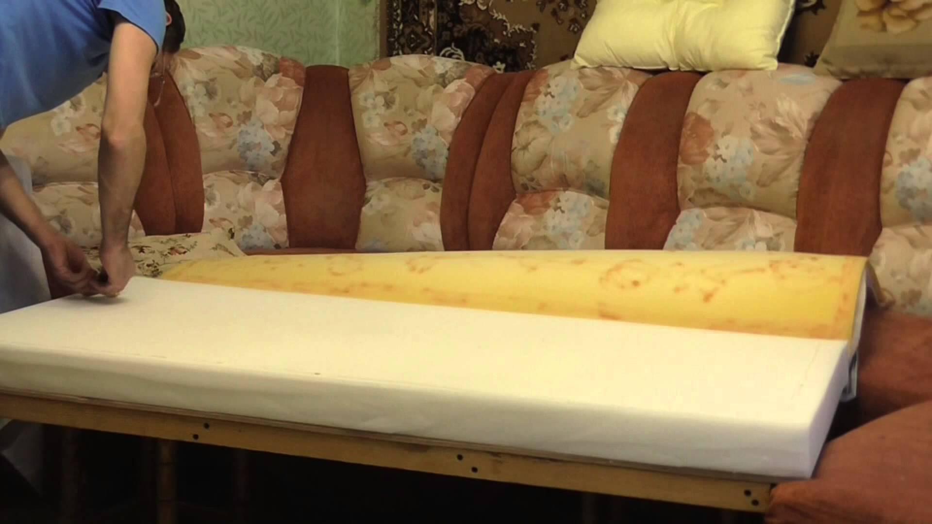 Обшиваем мебель своими руками