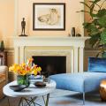 Обаяние пастельных тонов (65+ фото): персиковые обои в интерьере и варианты их лучших сочетаний фото