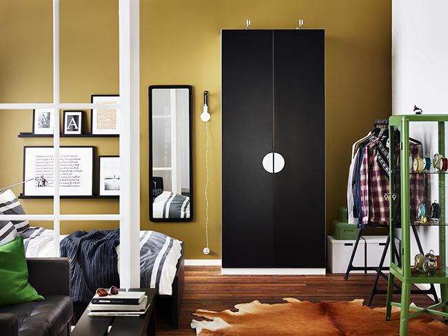 Утонченный гардероб ПАКС от IKEA