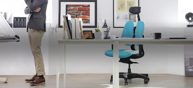 Кресло DuoBack позаботится о вашем позвоночнике