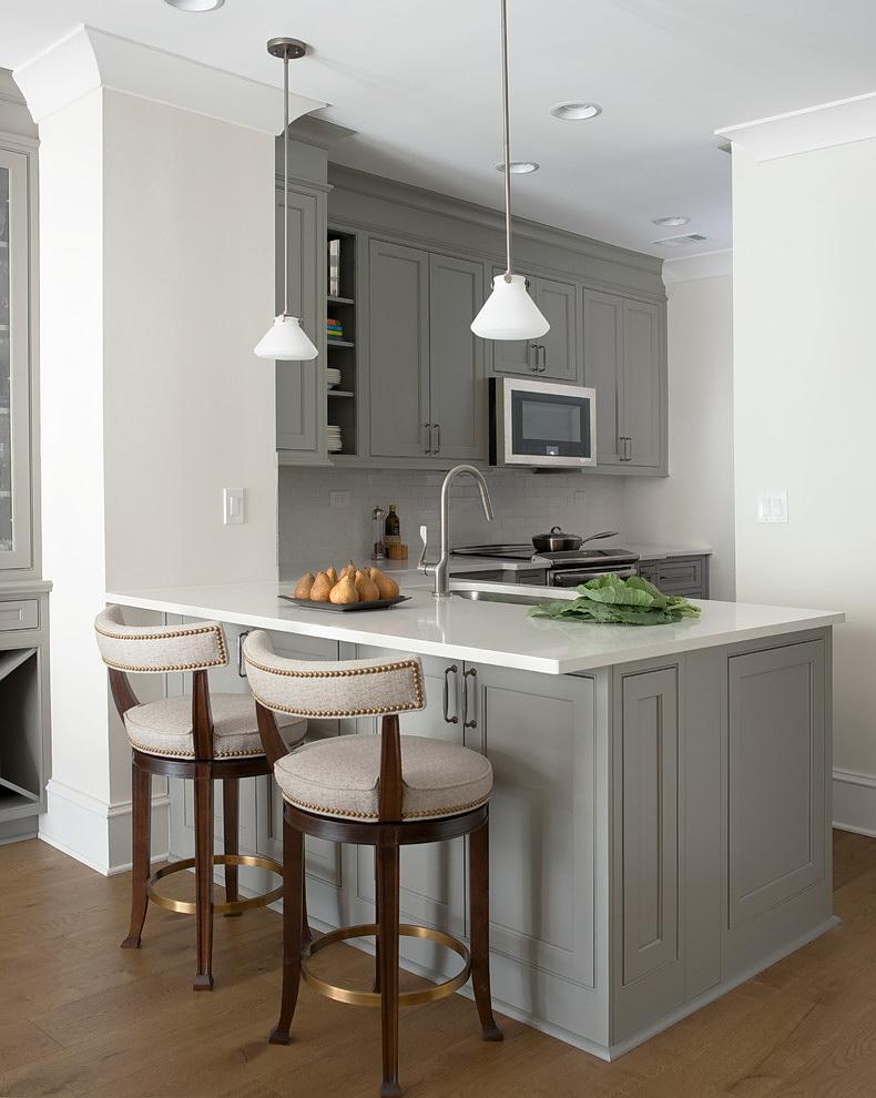 Серая кухня в интерьере (100 фото) ✅️ Сочетания цветов и тренды