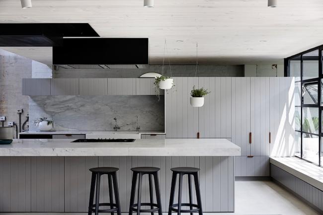 Мягкий серый оттенок идеален для любителей светлых интерьеров