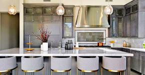 Серый цвет — тренд сезона: 100+ элегантных и современных вариантов серой кухни в интерьере фото