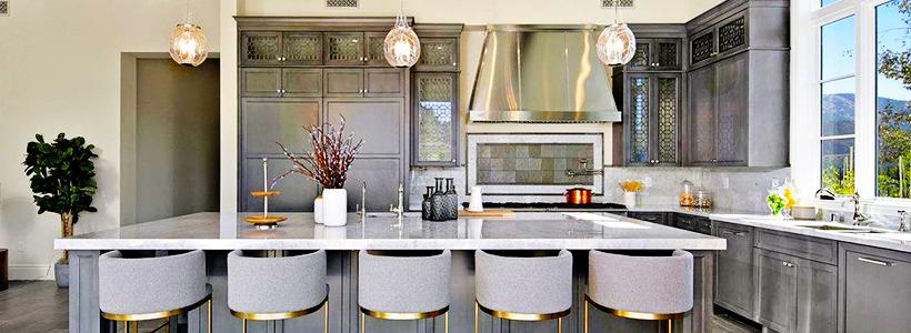 Серый цвет — тренд сезона: 100+ элегантных и современных вариантов серой кухни в интерьере