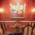 Этюд в алых тонах: 65+ фото классических и современных интерьеров с красными обоями фото