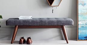 Банкетки для прихожей, спальни и кухни: обзор роскошных современных и классических моделей фото