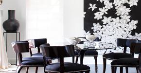 Черно-белая графика в интерьере (70+ фото): подборка восхитительных идеи дизайна для квартиры и дома фото