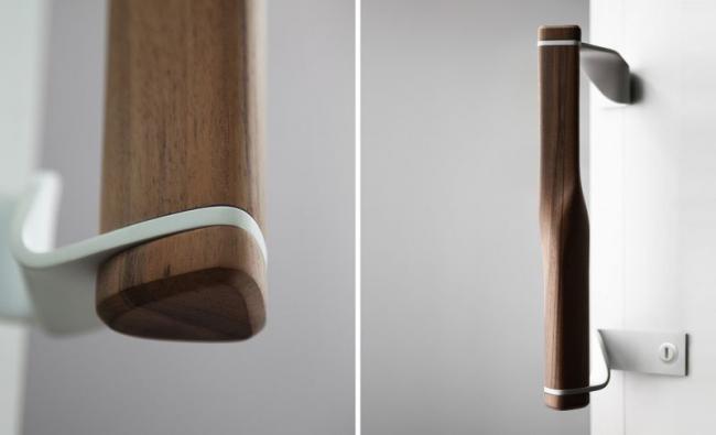 Деревянная фурнитура идеально подходящая для оформление интерьера в стиле эко