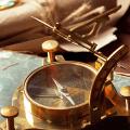 Обзор морского антиквариата родом из Англии. Хронографы, барометры и подзорные трубы фото